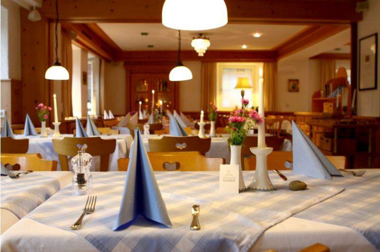 Innenraum des Restaurant Landgasthof Kaiser